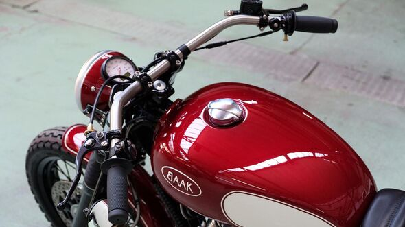 "Royal Enfield ""The Baak Motocyclette"""