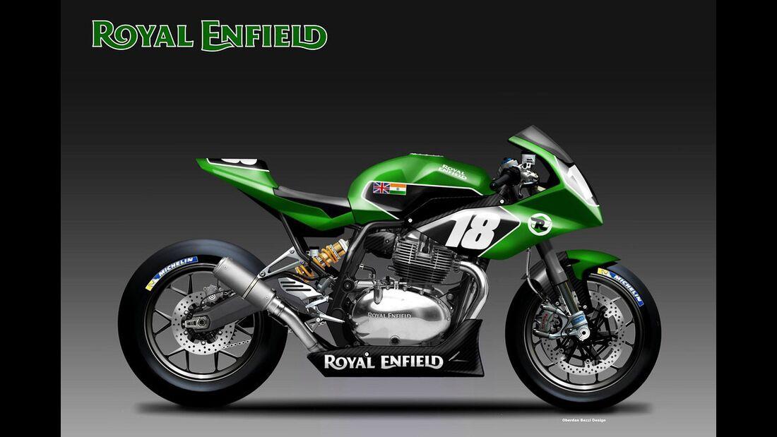 Royal Enfield Twin Endurance.