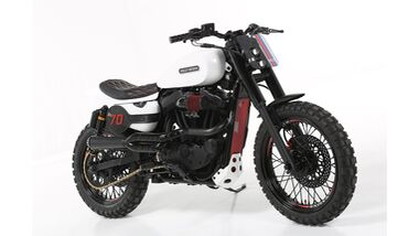 SEVENTY SPORTSTER FLAT TRACK by Lord Drake Kustoms