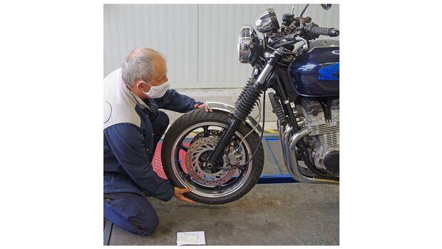 Schraubertipp Motorrad HU Hauptuntersuchung