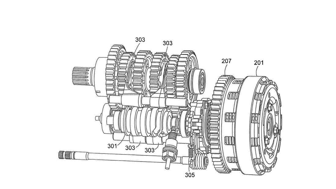 Seamless Getriebe Ducati