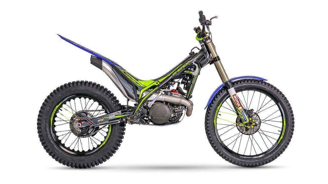 Sherco Modelljahr 2022 Trial 125 ST