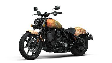 Shige Indian Motorcycle Chief Tattoo Bike
