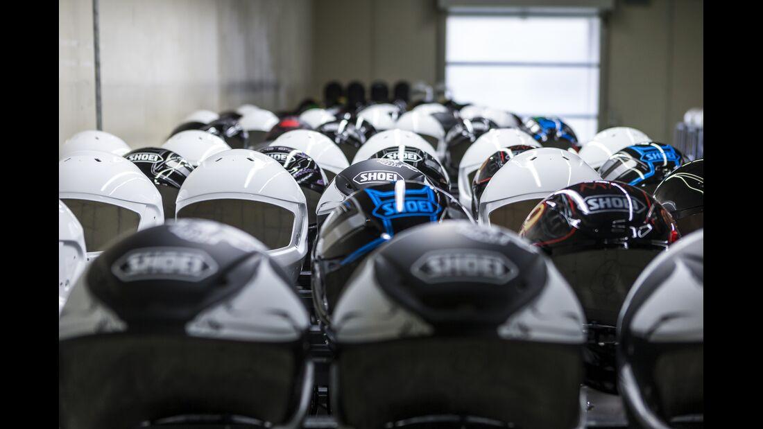 Shoei Helmproduktion