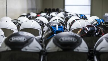 Shoei Helmproduktion