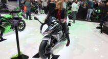 Sitzproben auf der EICMA 2019 Kawasaki Ninja 650