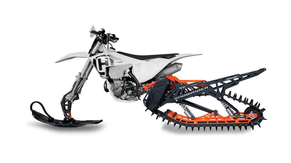 Snowrider-Moto - Schneemobil-Umbau-Kits für das Motorrad.