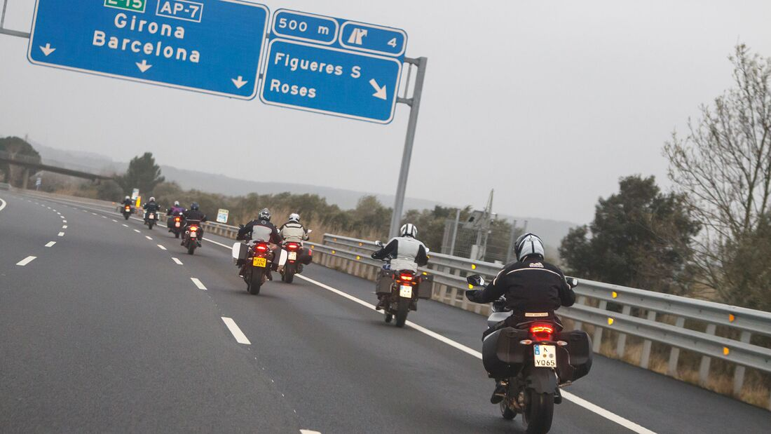 Spanien Autobahn mautfrei Motorrad