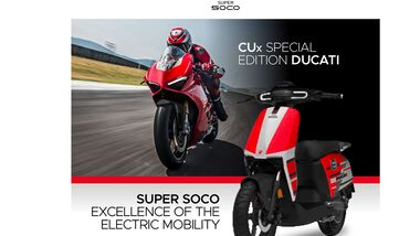 SuperSoco CUx Special Edition Ducati
