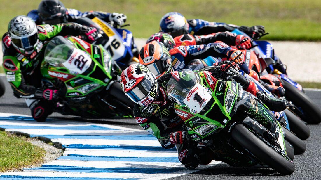 Superbike-WM 2020 in Australien.