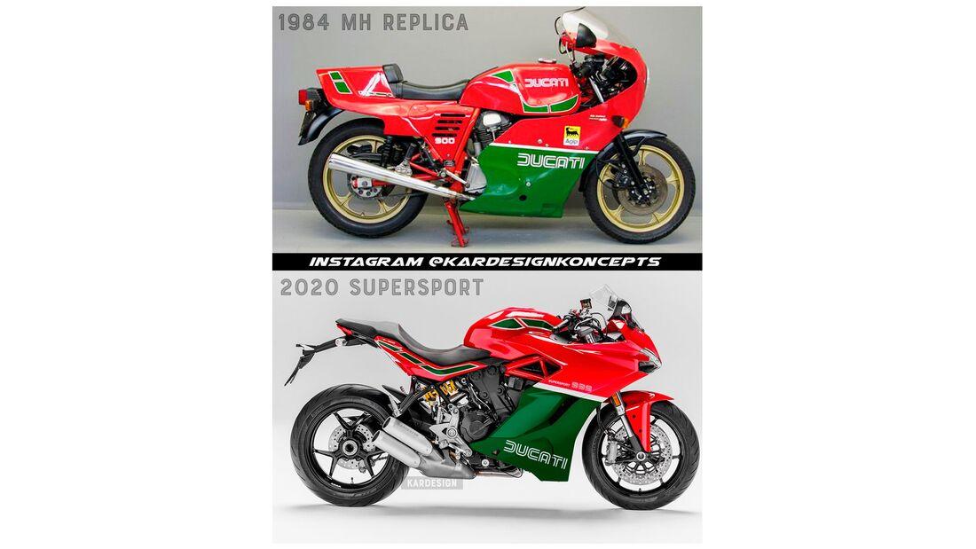 Supersportler im Retro-Design Ducati Supersport 939