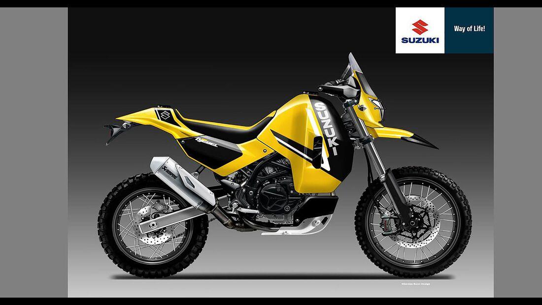 Suzuki 650 Enduro Concept Oberdan Bezzi