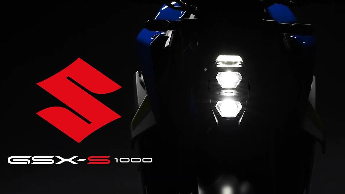 Suzuki GSX-S 1000 Teaser