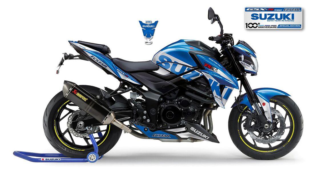 Suzuki GSX-S750 MotoGP Replica Frankreich Sondermodell