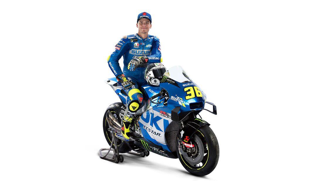 Suzuki MotoGP Präsentation 2021
