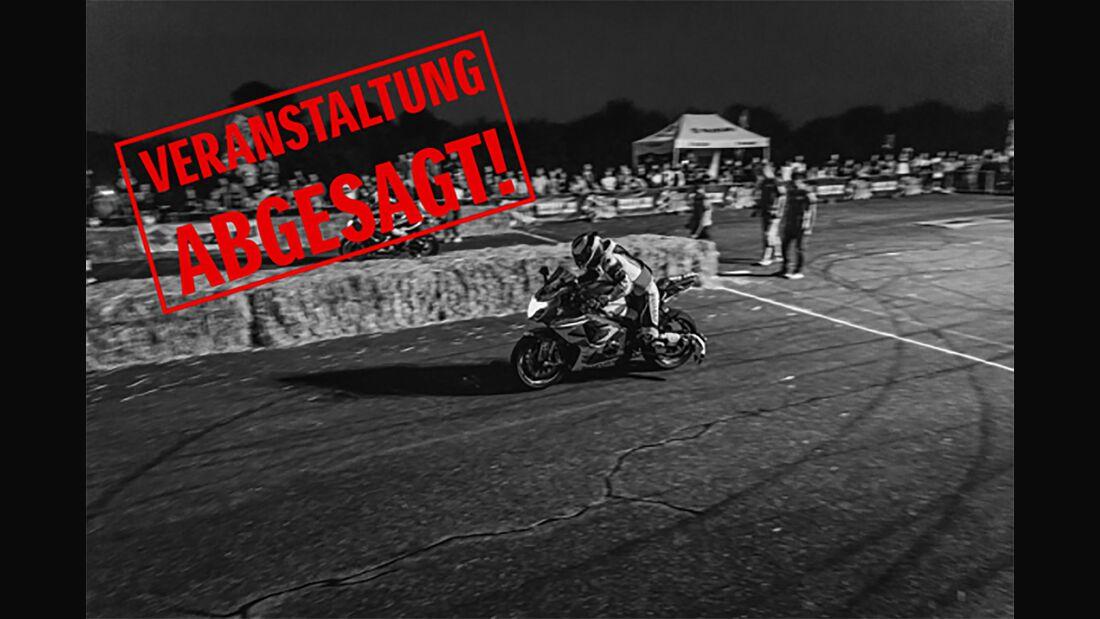 Suzuki Night Run Absage