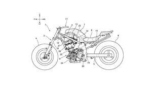 Suzuki SV 650 SV 700 Patent 2020 Parallel Twin