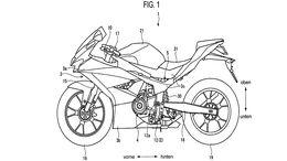Suzuki Twin Patent Supersport