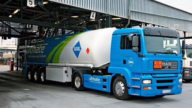 Tankwagen Terminal Aral/BP Ratgeber Benzin