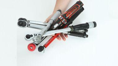 Test Drehmomentschlüssel unter 100 Euro Motorrad-Werkzeug