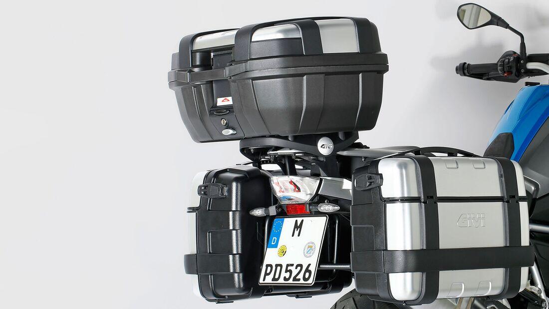 Test Koffersysteme BMW R 1250 GS Givi