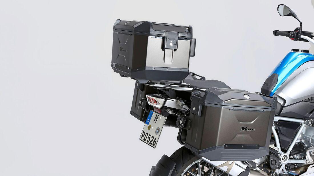 Test Koffersysteme BMW R 1250 GS Hepco und Becker