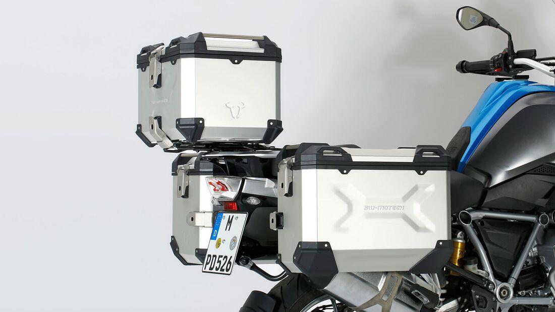 Test Koffersysteme BMW R 1250 GS SW-Motech
