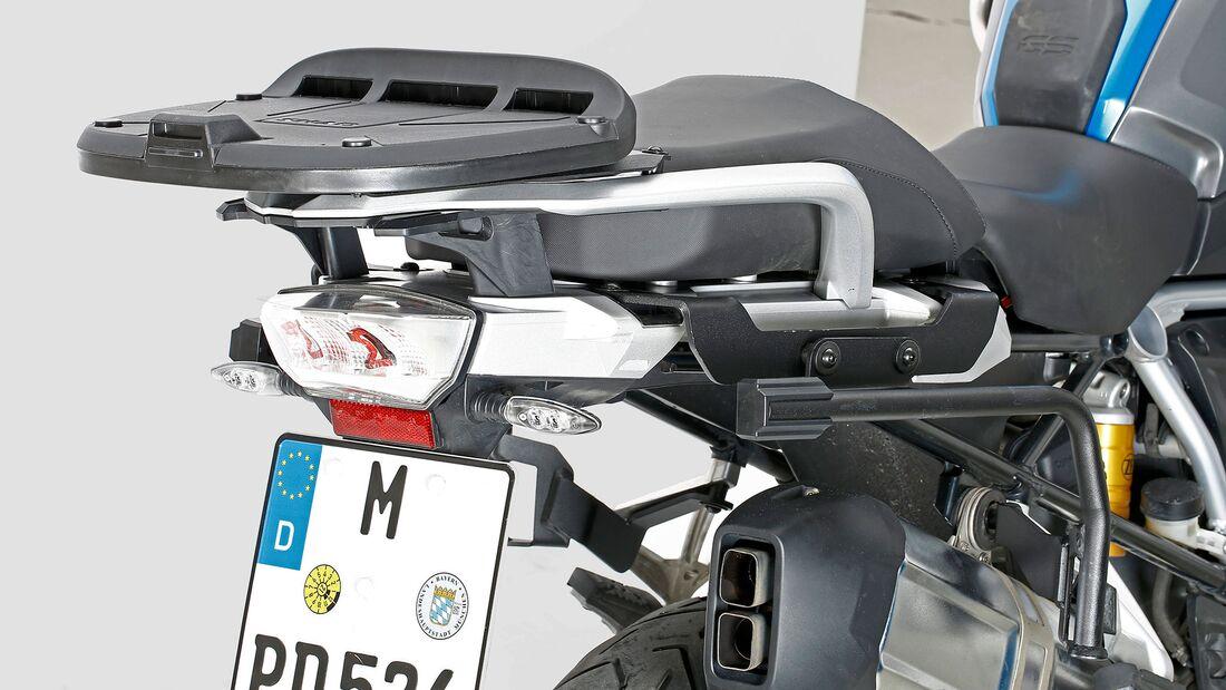 Test Koffersysteme BMW R 1250 GS Shad
