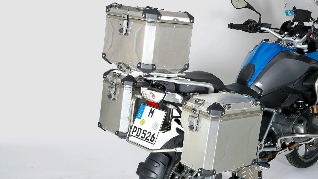 Test Koffersysteme BMW R 1250 GS Wunderlich