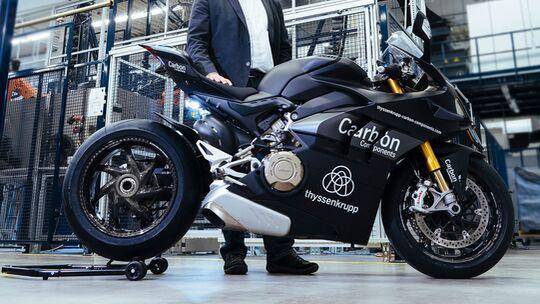 Thyssenkrupp Carbonfelgen Ducati Panigale V4/V4 S/V4 R