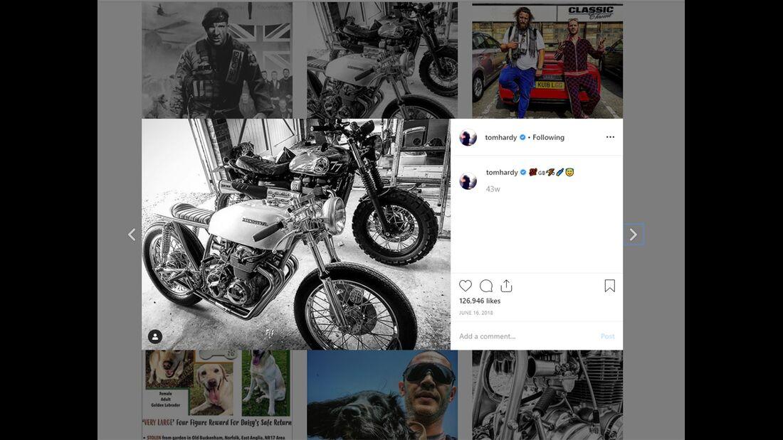 Tom Hardy Instagram