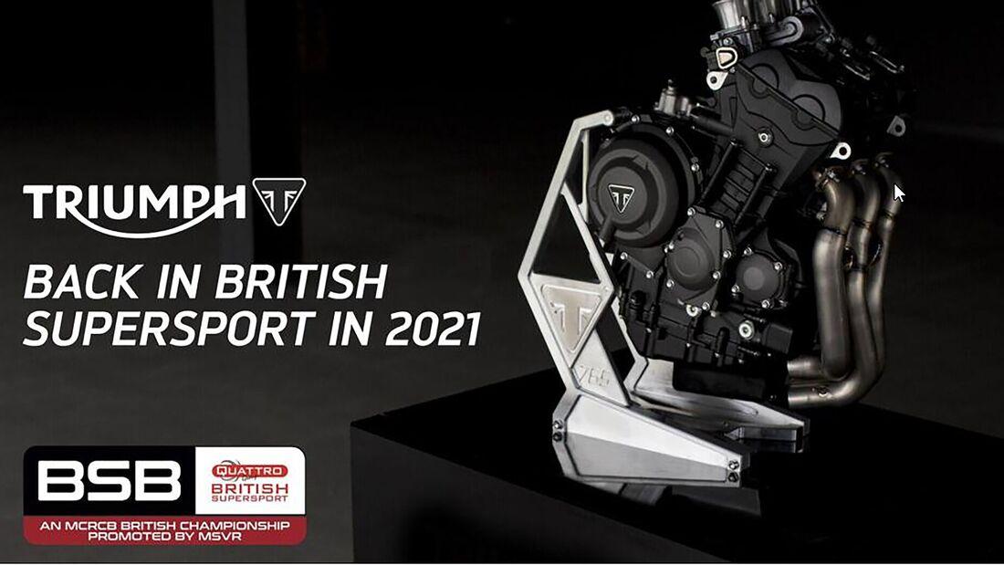 Triumph BSB Einstieg