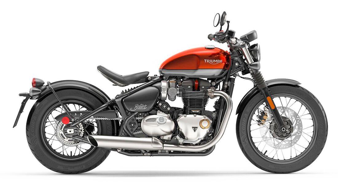 Triumph Bonneville Bobber.