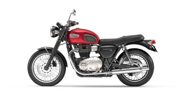 Triumph Bonneville T100.