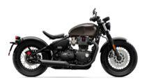 Triumph Bonnville Bobber/Black
