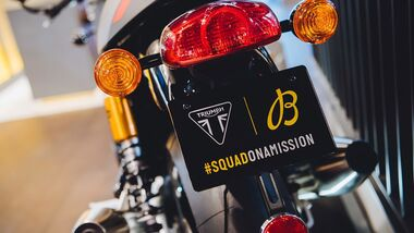 Triumph Breitling Kooperation