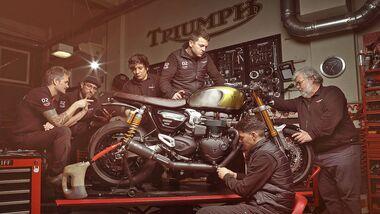 Triumph Garage Icon Custom-Wettbewerb Spanien 2020