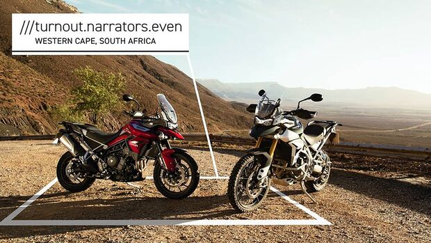 Triumph Navigation what 3 words