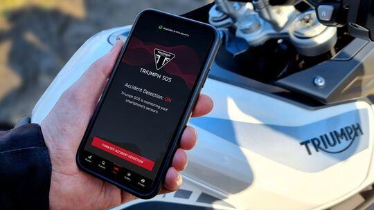 Triumph SOS App