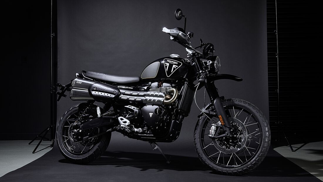 Triumph Scrambler 1200 Bond Edition.