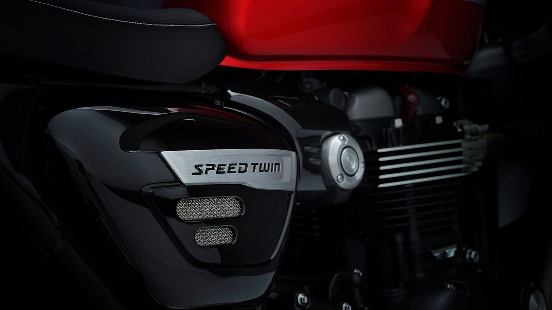 Triumph Speed Twin Modelljahr 2021