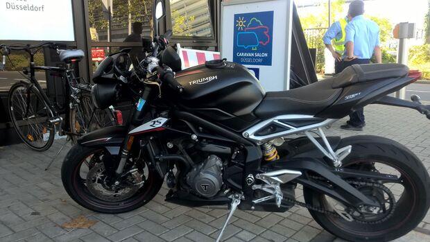 Triumph Street Triple RS im 50.000 km-Dauertest 2019