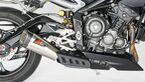 Triumph Street Triple RS im Dauertest - Zubehör: Zard-Auspuff.