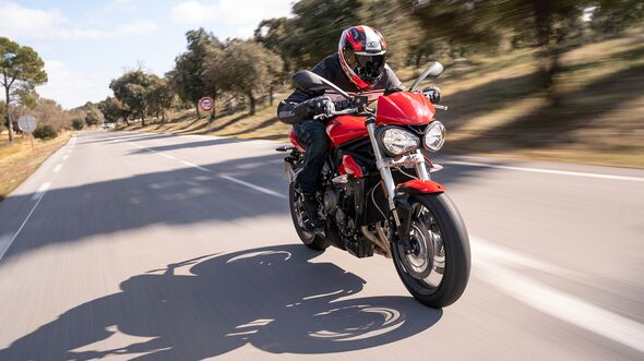 Triumph Street Triple S A2-Version