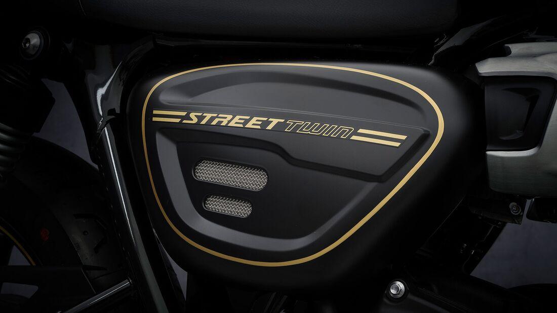 Triumph Street Twin 2021 Gold Line