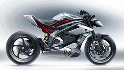 Triumph TE-1 Elektromotorrad