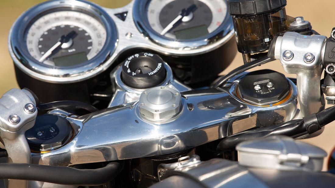 Triumph Thruxton RS.