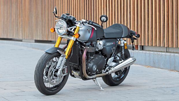 Triumph Thruxton RS.