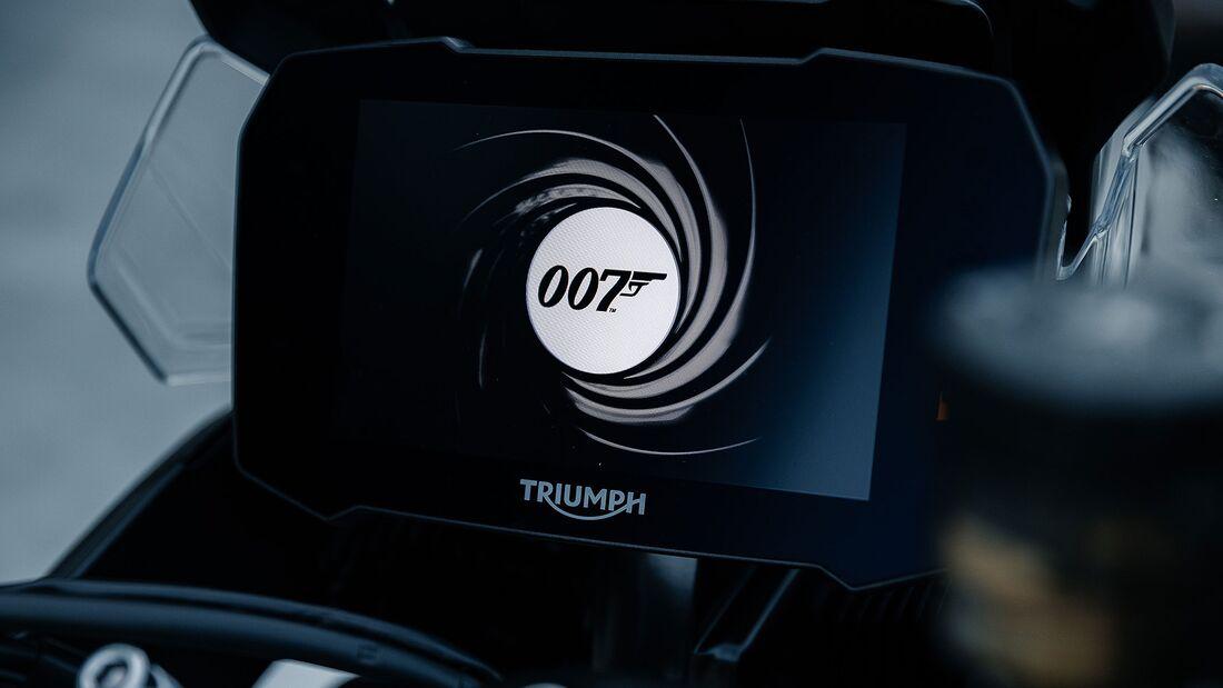 Triumph Tiger 900 James Bond Limited-Edition
