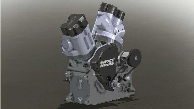 V&H Motor Buell 2021